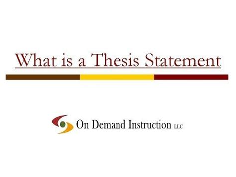 How to write a thesis statement on immigration - Quora